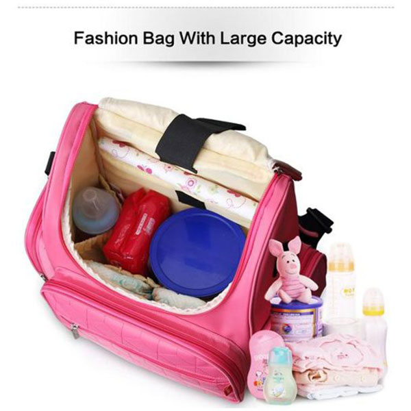 New Baby Diaper Backpack 210D Nylon Heavy Duty Mommy Backpack Nappy Changing Bag