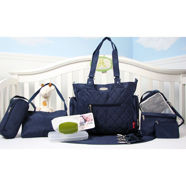 9 pieces set of diaper bag  Fashion Baby Diape