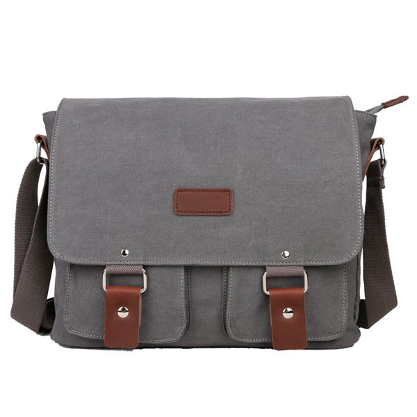 Canvas Messenger Bag Shoulder Bag Laptop Bag i