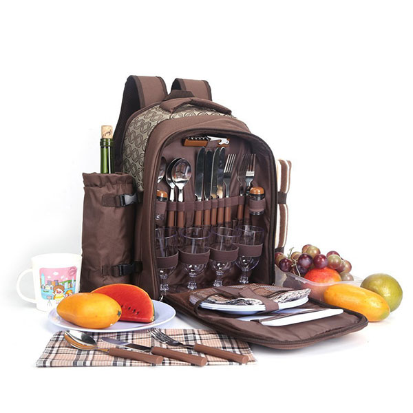 ELPB042 Enrich Picnic Backpack With Cooler Com