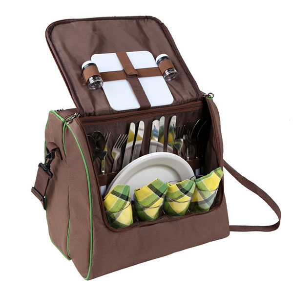 ELPB013 Shoulder picnic bag for 4 person with