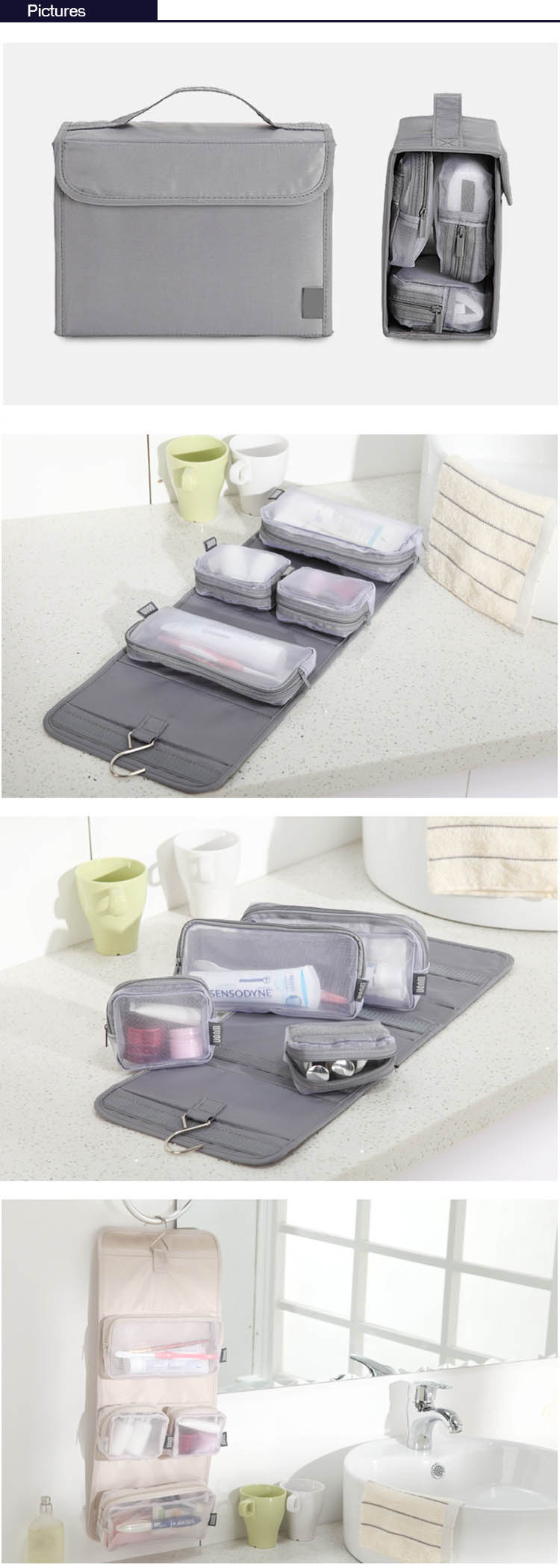 removable cosmetic bag supplier-6