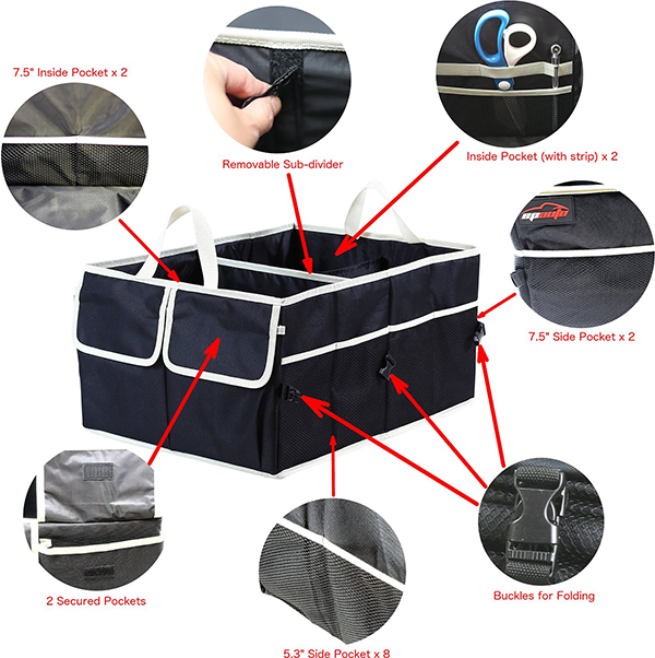 wholesale car trunk organizer-2