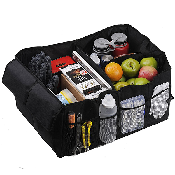 Multipurpose Portable Car Trunk Organizer for Sedan