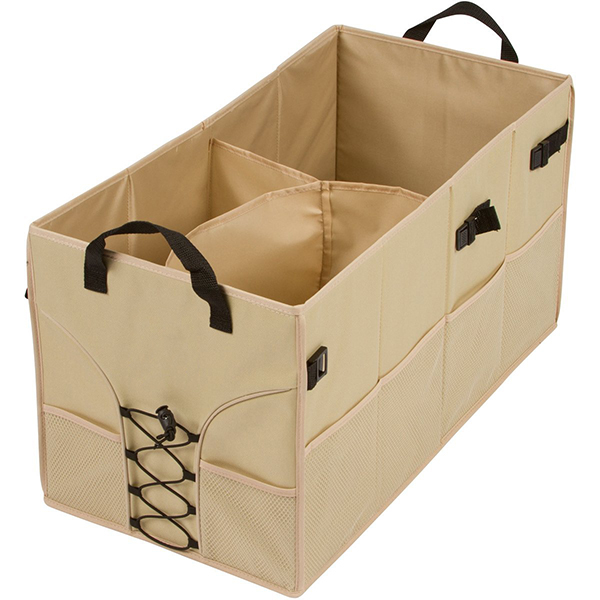 Portable foldable trunk organizer supplier