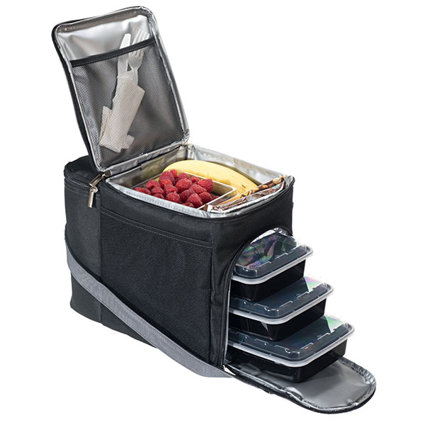 China Meal Prep Cooler Shoulder Bag For Sale W