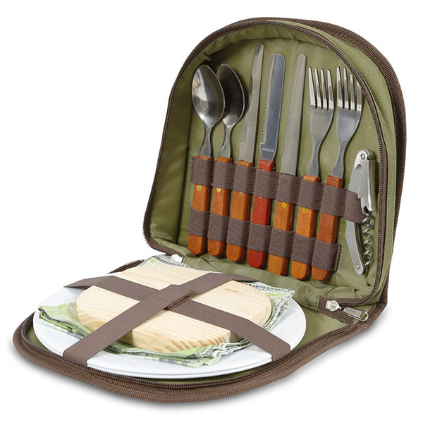 Portable Outdoors Picnic Set for 2