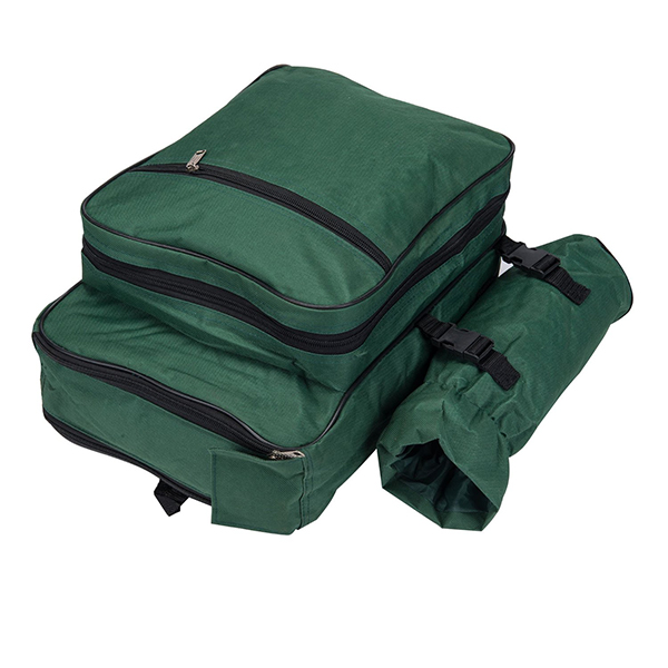 4 Person Picnic Backpack With Cooler Compartment-3