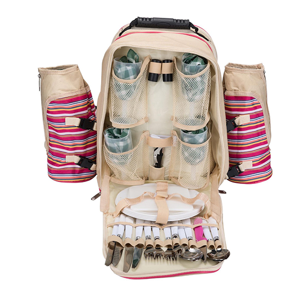 Multi-function 4 Person picnic bag with Picnic