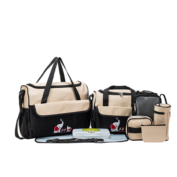 10 Pieces Fashionable Diaper Bag Set
