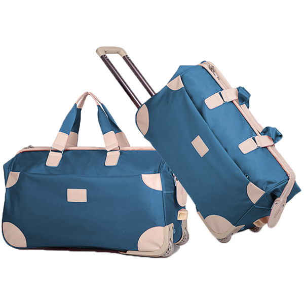 53L Large capacity luggage rolling travel duffle bag