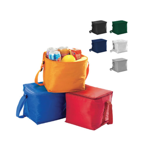 LCL06 China Fashion style polyester lunch 6 pack insulated cooler bag for frozen food
