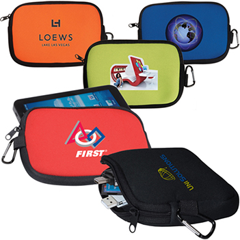 EJPS08 Promotional Neoprene Tech Phone Pouch
