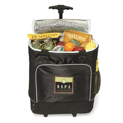 <b>LCL25 Deluxe Ripstop Rolling cooler bag</b>