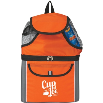 <b>LCL30 Insulated Custom Backpack Cooler - 6 Can</b>