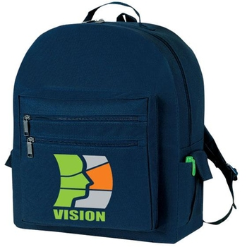 MSB21 Adjustable Poly Promotional Backpack In